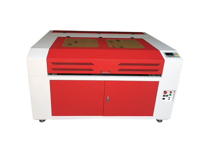 Wine Bottles / Glass Cups / Wood Laser Engraving Machine 6090 With Rotary