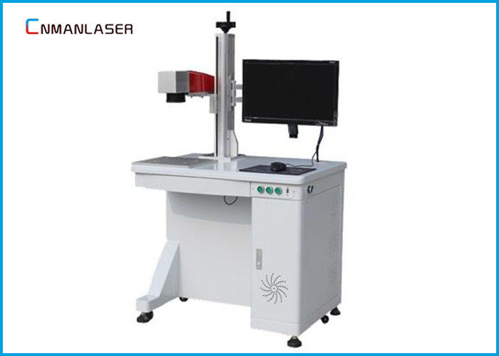 Nonmetals / Metals 20w Desktop CO2 Laser Marking Machine With Better Laser Beam