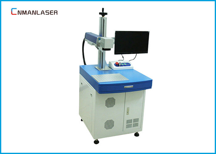 Desktop 20W Fiber Laser Marking Machine With Automatic Focusing Marking Head