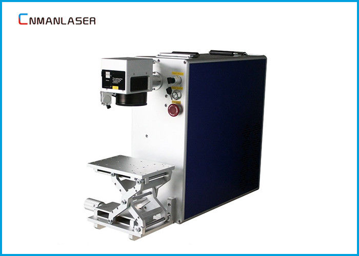 Name Number Logo Label 30W Fiber Laser Marker Machine With SINO-GALVO Galvanometer