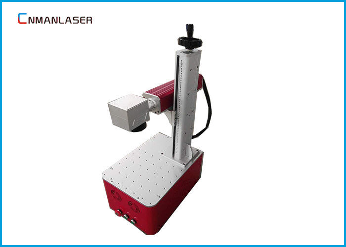 Red Light Optical Fiber Laser Marking Machine For Electronic Appliance